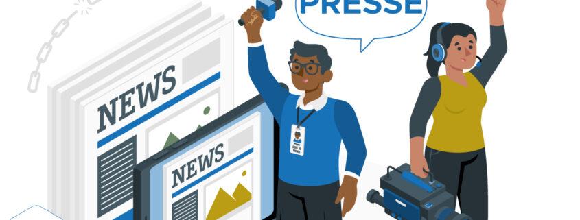 données personnelles et homme de media